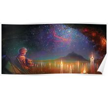 staring off yonder to the endless beyond Poster