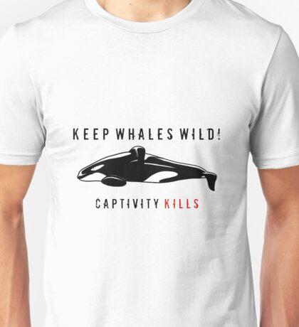 Keep Whales Wild Unisex T-Shirt