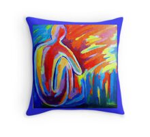 """Contemplation"" Throw Pillow"