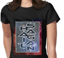 HAIL SAGAN - V1 Womens Fitted T-Shirt