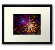 Spiraled Hearts Framed Print