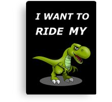 Bicycle: I want to ride my bike Canvas Print
