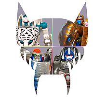 TRANSFORMERS FIGURES!!! Beast Wars Maximal Logo  Photographic Print