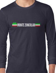 Monte Zoncolan Italian Cycling Long Sleeve T-Shirt