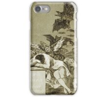 Francisco De Goya  - The Sleep Of Reason Produces Monsters. Bird painting: cute fowl, fly, wings, lucky, pets, wild life, animal, birds, little small, bird, nature iPhone Case/Skin