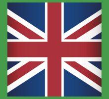 UK Flag One Piece - Short Sleeve