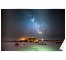 Milky Way at the Mount Poster
