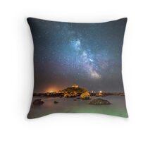 Milky Way at the Mount Throw Pillow