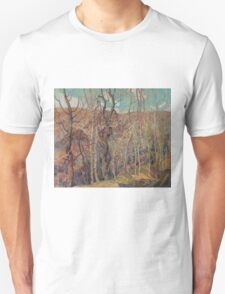 Franklin Carmichael - Silvery Tangle 1921. Forest view: forest view, trees, field, nature, botanical forestry, floral flora, wonderful flowers, plants, cute plant, garden, flowers Unisex T-Shirt