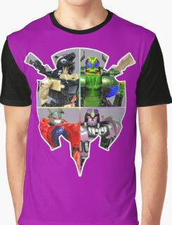 TRANSFORMERS FIGURES!!! Beast Wars Predacon Logo Graphic T-Shirt