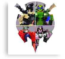 TRANSFORMERS FIGURES!!! Beast Wars Predacon Logo Canvas Print