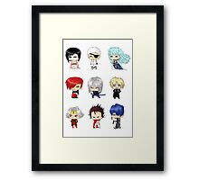 Anime Psychos Framed Print