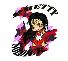 pretty soldier sailor MARS! by ARTBYALE
