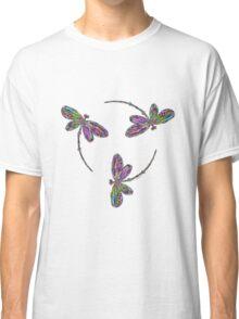 Dragonfly Trio T-Shirt Classic T-Shirt