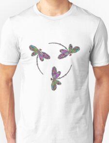 Dragonfly Trio T-Shirt Unisex T-Shirt
