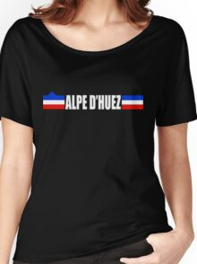 Alpe d'huez Cycling Women's Relaxed Fit T-Shirt
