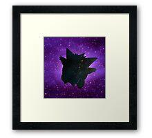 Galaxy Gengar Framed Print