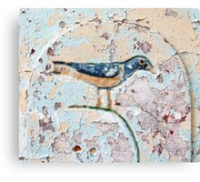 Wall Bird Canvas Print