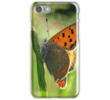 The Small Copper Butterfly iPhone Case/Skin