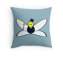 Jim Morhoney, Criminal Masterbee Throw Pillow