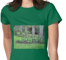 Plant yourself where nature blooms  Womens Fitted T-Shirt