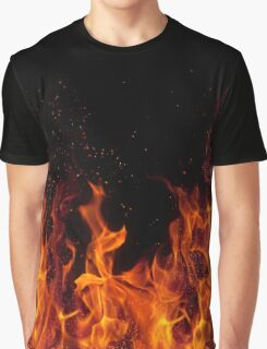 Flames - Fire Graphic T-Shirt