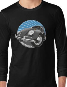 Sixties VW Beetle black Long Sleeve T-Shirt