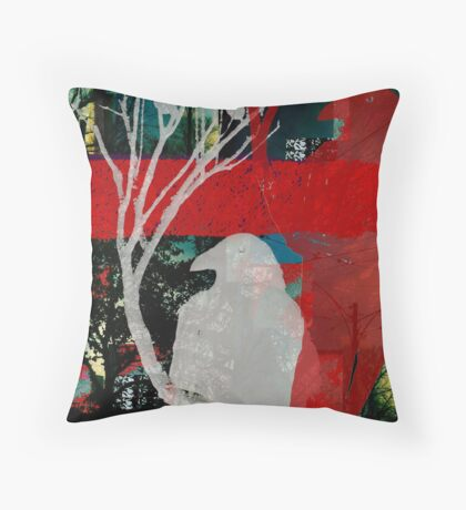 A Touch of Red Throw Pillow