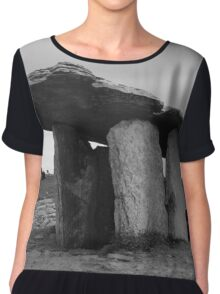 Ancient standing stones, Ireland Chiffon Top