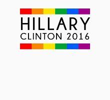 Hillary Clinton 2016 Rainbow Flag Womens Fitted T-Shirt