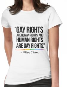 Gay Rights Womens Fitted T-Shirt