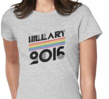 Vintage Hillary 2016 Womens Fitted T-Shirt