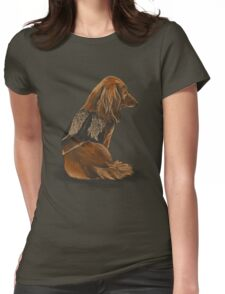 Daryl Dachshund Womens Fitted T-Shirt