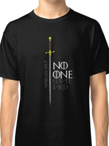 No One  Classic T-Shirt