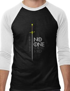 No One  Men's Baseball ¾ T-Shirt