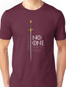 No One  Unisex T-Shirt