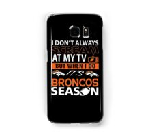 Denver Broncos Super Bowl Samsung Galaxy Case/Skin