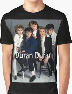 Vintage Duran Duran Poster Graphic T-Shirt