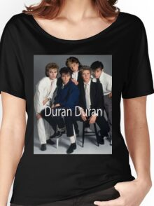 Vintage Duran Duran Poster Women's Relaxed Fit T-Shirt