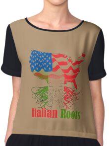 Italian Roots Chiffon Top