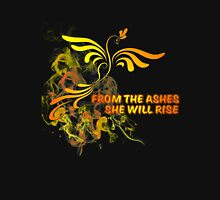 Phoenix from the Ashes Womens Fitted T-Shirt