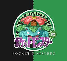 Pocket Monsters Green by SnapFlash