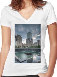 Ground Zero Women's Fitted V-Neck T-Shirt