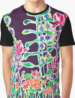 Night Blooms Graphic T-Shirt