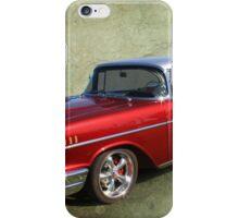 Burgundy 57 iPhone Case/Skin