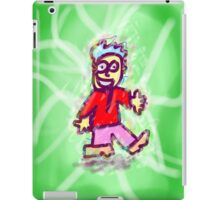Tesla dude. iPad Case/Skin