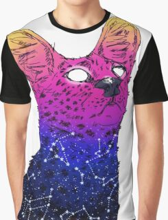 Galaxy Serval Graphic T-Shirt