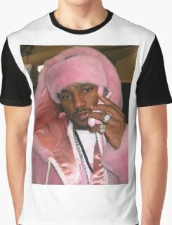 Cam'ron Pink Graphic T-Shirt