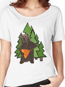 Russian Bear with a Balalaika Women's Relaxed Fit T-Shirt