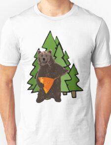 Russian Bear with a Balalaika Unisex T-Shirt